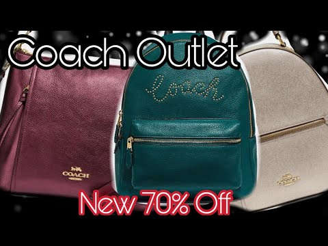 Coach Outlet Sale Shopping New 70% Off Online and at Coach Outlet Store