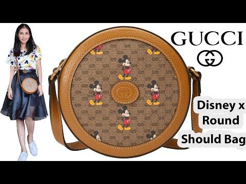 รีวิวกระเป๋ากุชชี่ Gucci Disney X Round Shoulder Bag