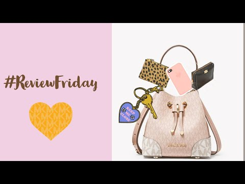 MICHAEL KORS | Review Friday | What fits inside | Mercer Gallery X-Small Crossbody |