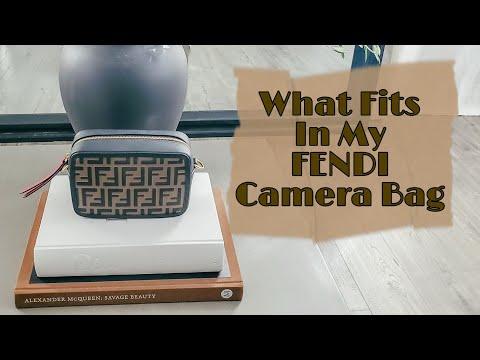 NEW* Whats in my camera bag| 4 ways ! FENDI